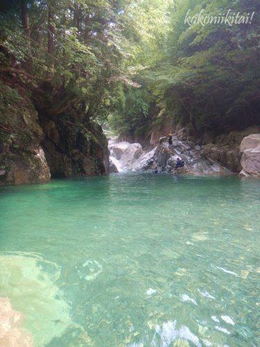滋賀県神崎川キャニオニングツアー