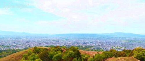 奈良若草山山頂