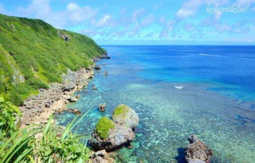 伊良部島さばおき園地からの眺め
