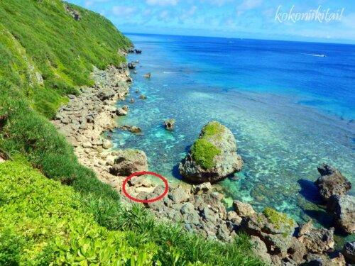 伊良部島サバウツガー海の眺め景色