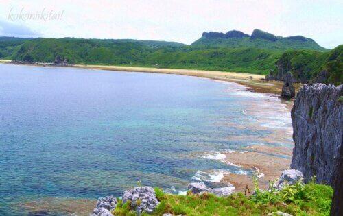 辺戸岬の宇佐浜